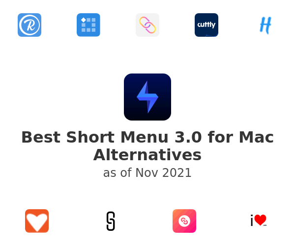 Best Short Menu 3.0 for Mac Alternatives