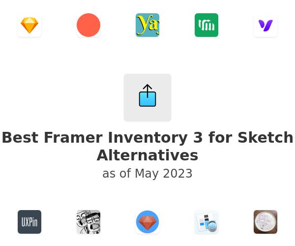 Best Framer Inventory 3 for Sketch Alternatives