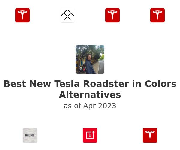 Best New Tesla Roadster in Colors Alternatives