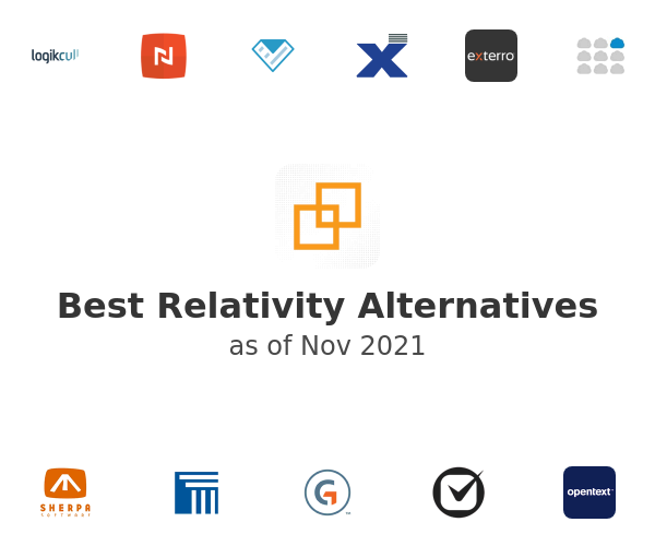 Best Relativity Alternatives