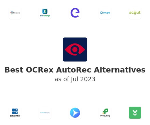 Best OCRex AutoRec Alternatives