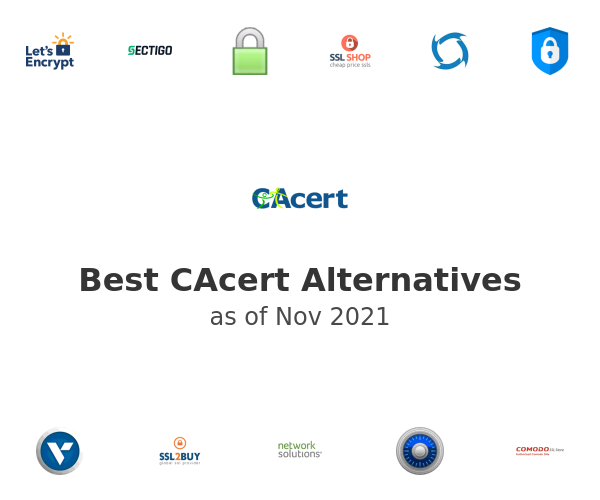 Best CAcert Alternatives