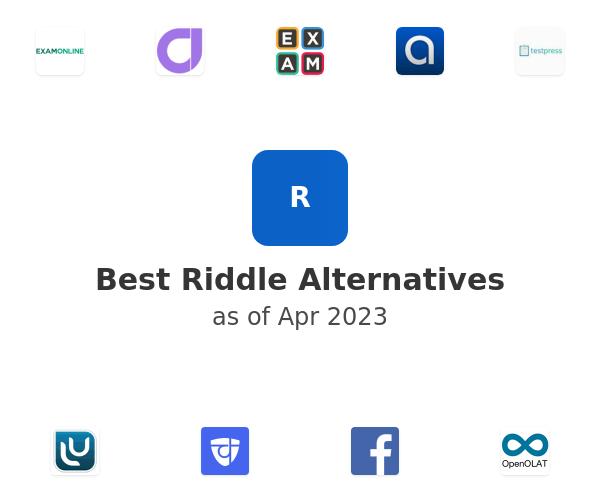 Best Riddle Alternatives