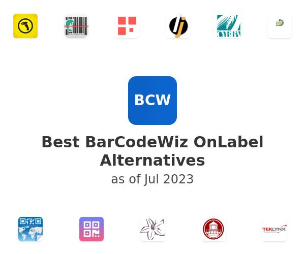 Best BarCodeWiz OnLabel Alternatives