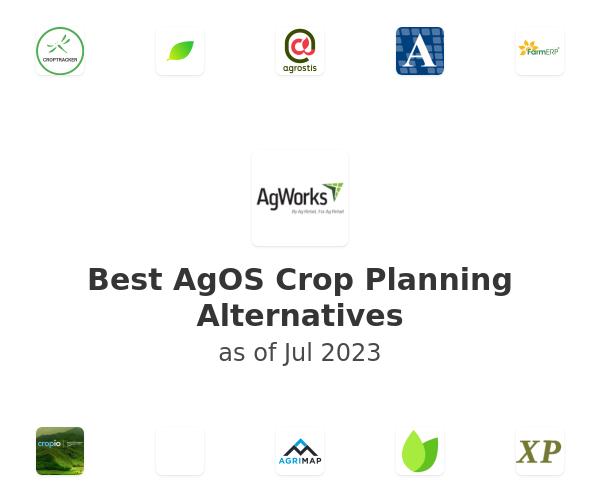 Best AgOS Crop Planning Alternatives
