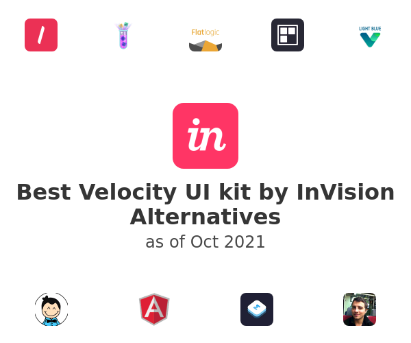 Best Velocity UI kit by InVision Alternatives