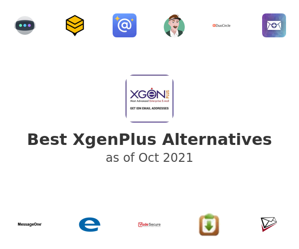 Best XgenPlus Alternatives
