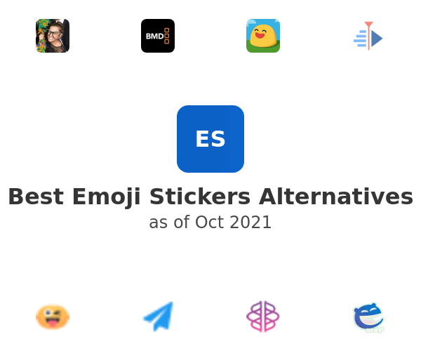 Best Emoji Stickers Alternatives