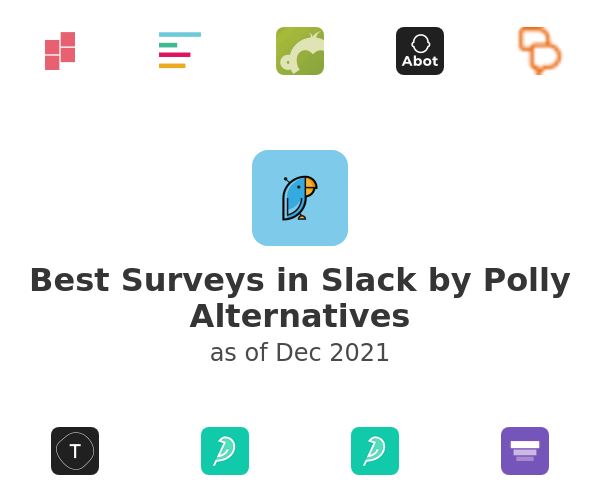 Best Surveys in Slack by Polly Alternatives