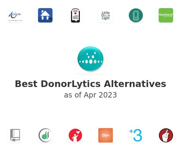 Best DonorLytics Alternatives