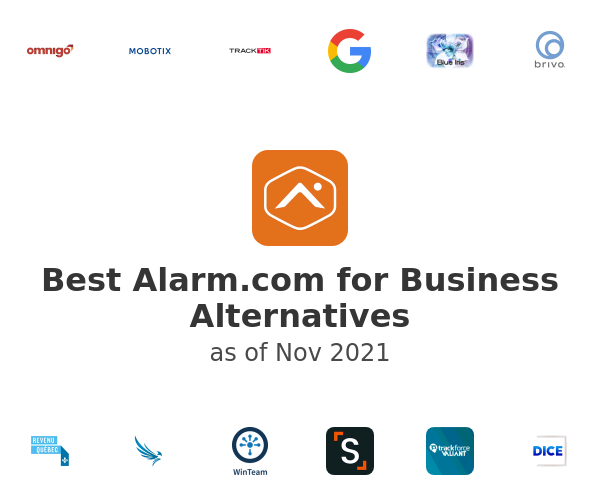 Best Alarm.com for Business Alternatives