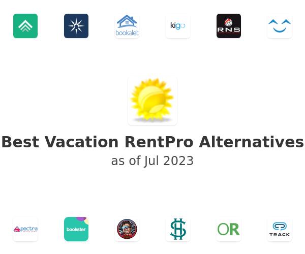 Best Vacation RentPro Alternatives