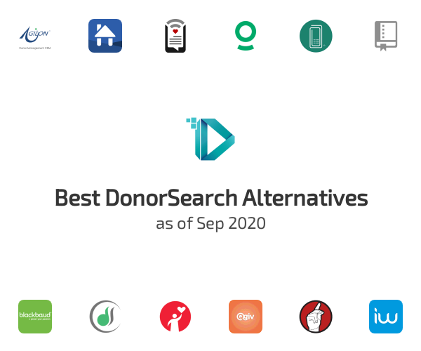 Best DonorSearch Alternatives