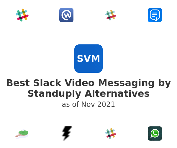 Best Slack Video Messaging by Standuply Alternatives