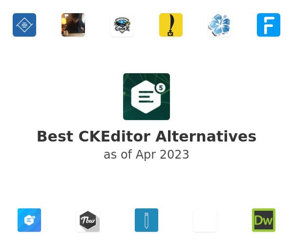 Best CKEditor Alternatives