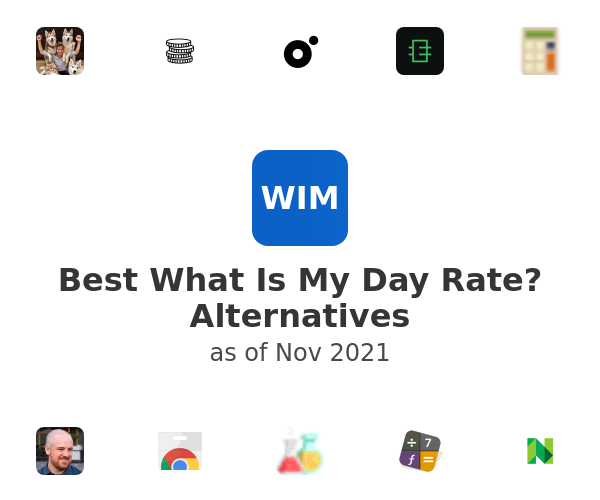Best What Is My Day Rate? Alternatives