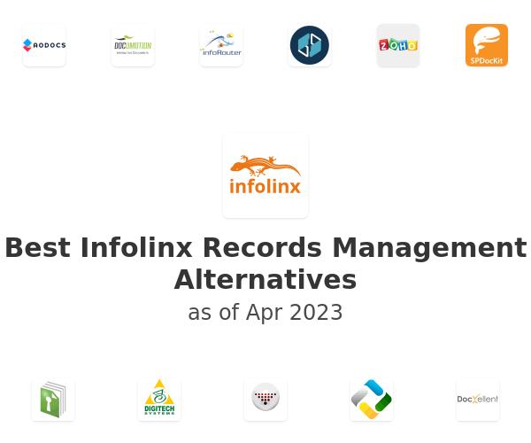 Best Infolinx Records Management Alternatives