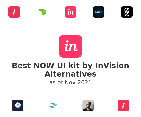 Best NOW UI kit by InVision Alternatives