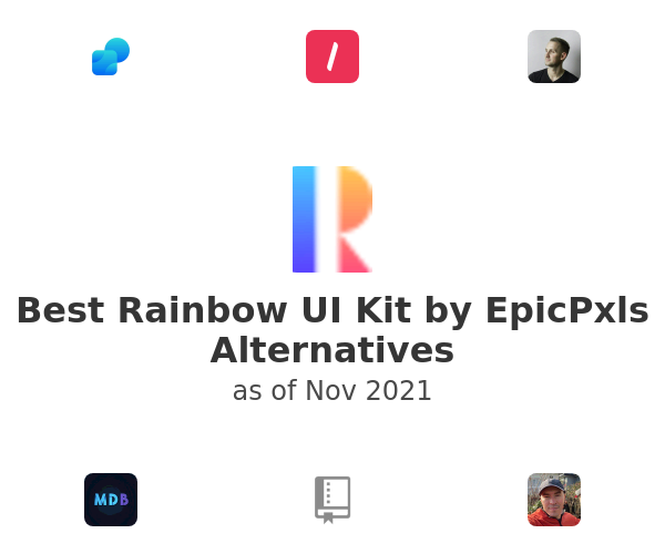 Best Rainbow UI Kit by EpicPxls Alternatives