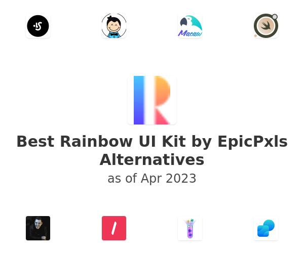Best Rainbow UI Kit by EpicPxls Alternatives