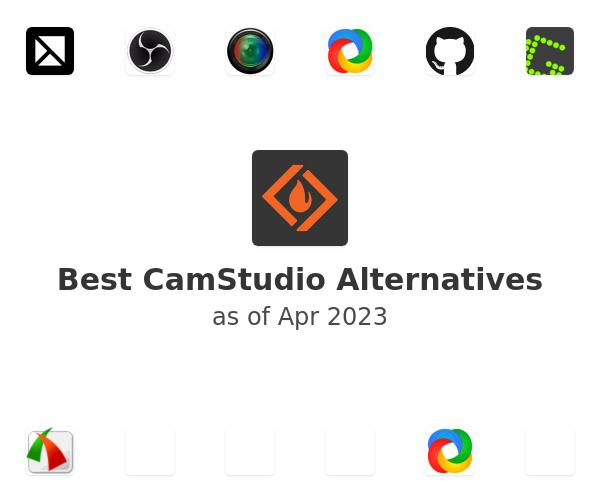 Best CamStudio Alternatives