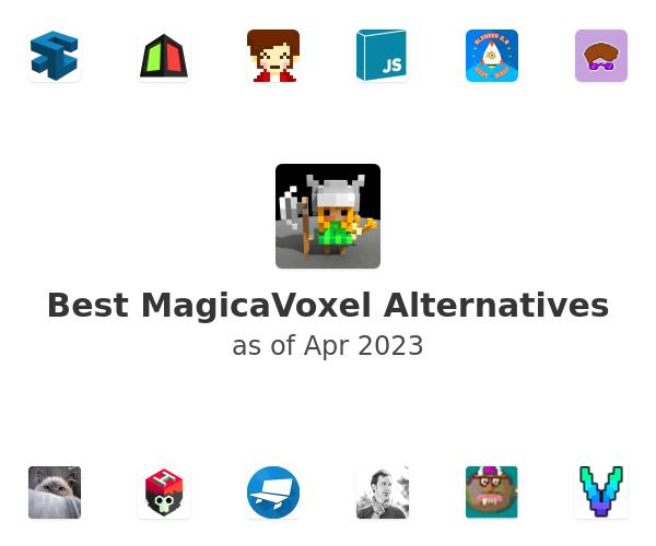 Best MagicaVoxel Alternatives