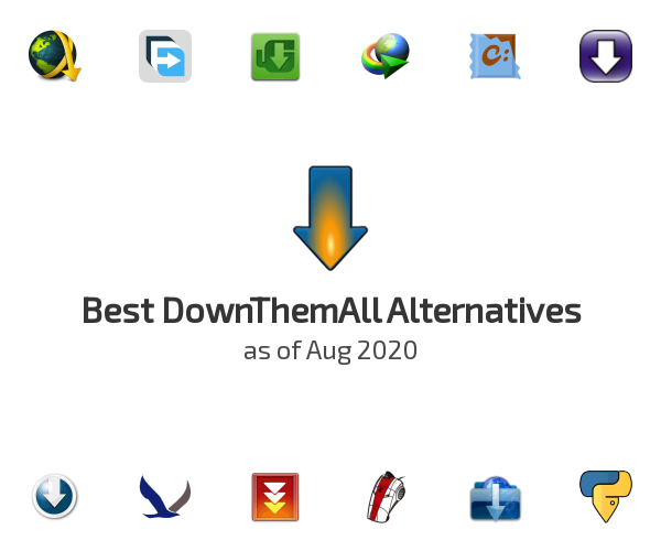 Best DownThemAll Alternatives