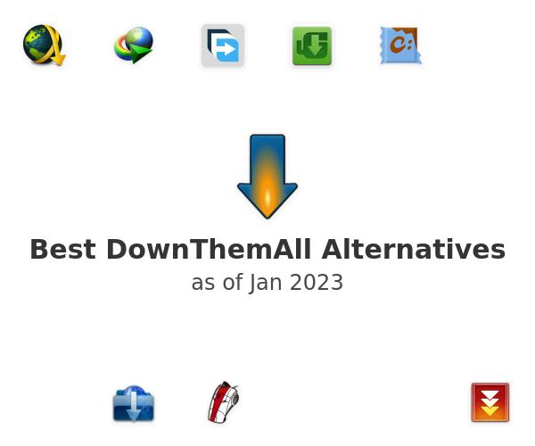Best DownThemAll Alternatives
