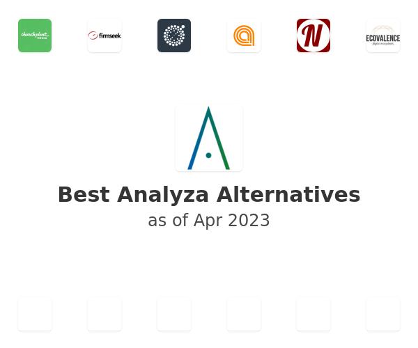 Best Analyza Alternatives
