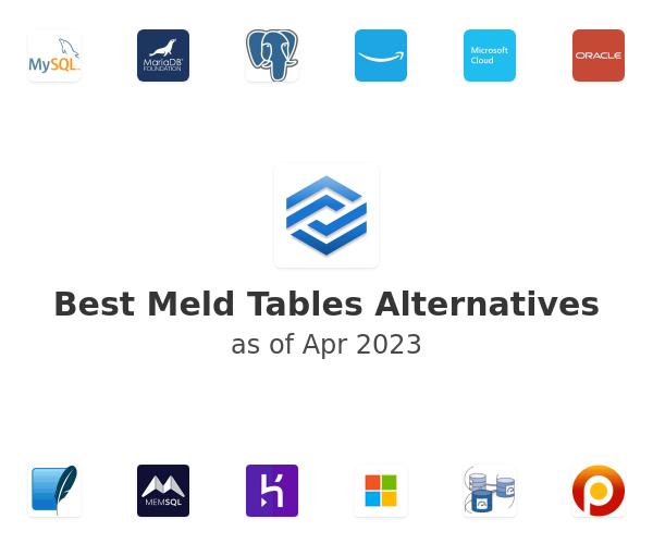 Best Meld Tables Alternatives