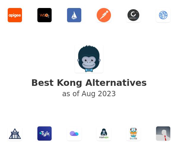 Best Kong Alternatives