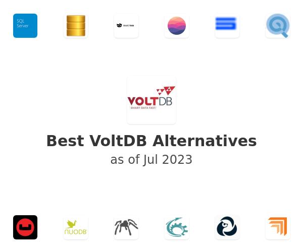 Best VoltDB Alternatives