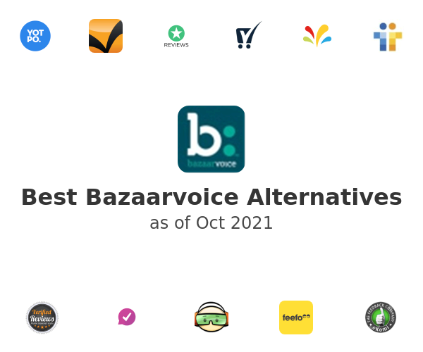 Best Bazaarvoice Alternatives
