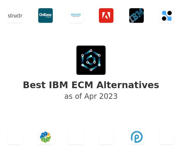 Best IBM ECM Alternatives