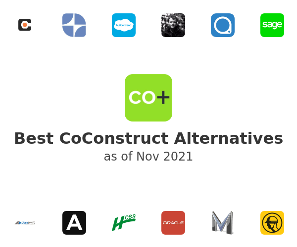 Best CoConstruct Alternatives
