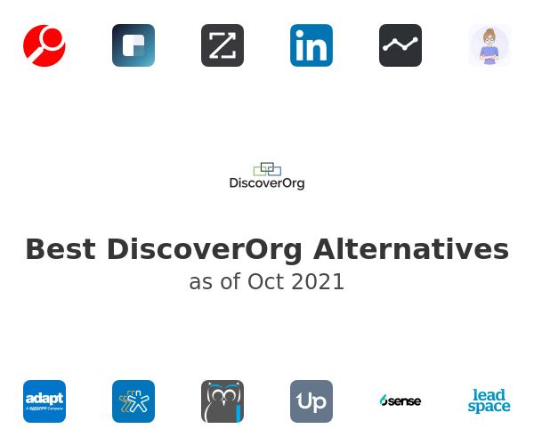 Best DiscoverOrg Alternatives