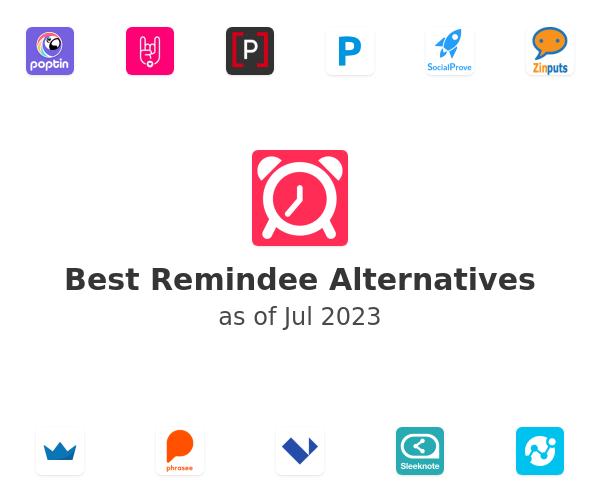Best Remindee Alternatives