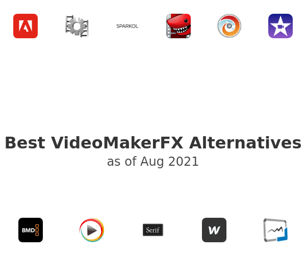Best VideoMakerFX Alternatives
