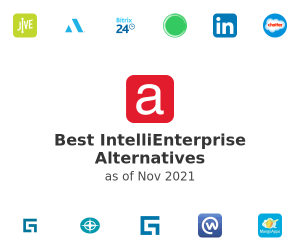 Best IntelliEnterprise Alternatives