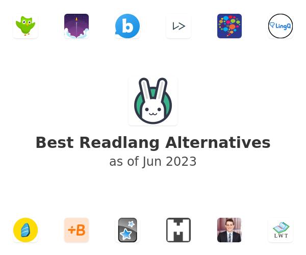 Best Readlang Alternatives