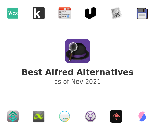 Best Alfred Alternatives