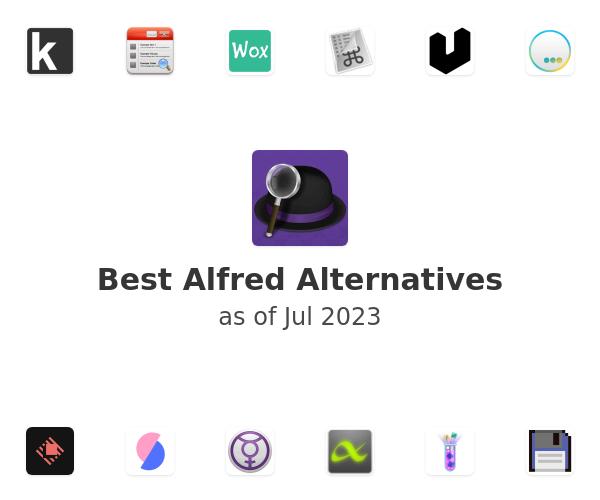 Best Alfred Alternatives
