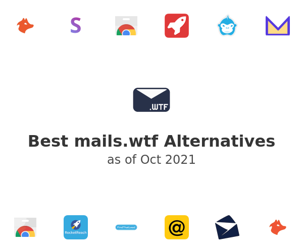 Best mails.wtf Alternatives