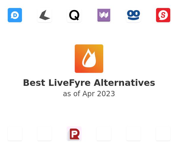 Best LiveFyre Alternatives