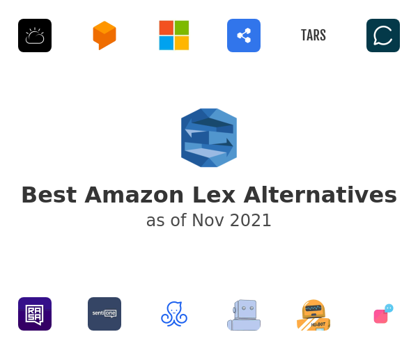 Best Amazon Lex Alternatives