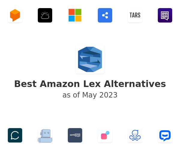 Best Amazon Lex Alternatives