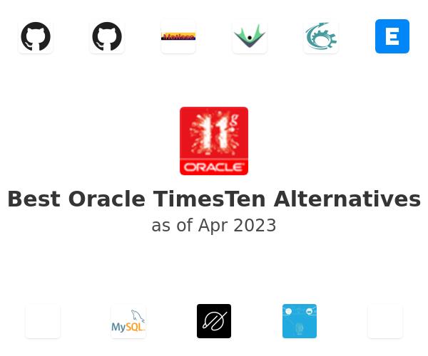 Best Oracle TimesTen Alternatives