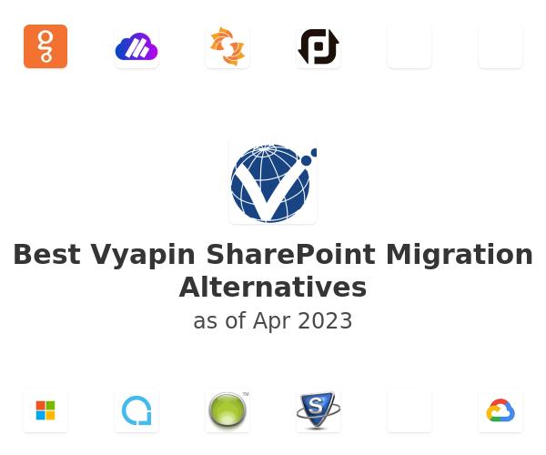 Best Vyapin SharePoint Migration Alternatives