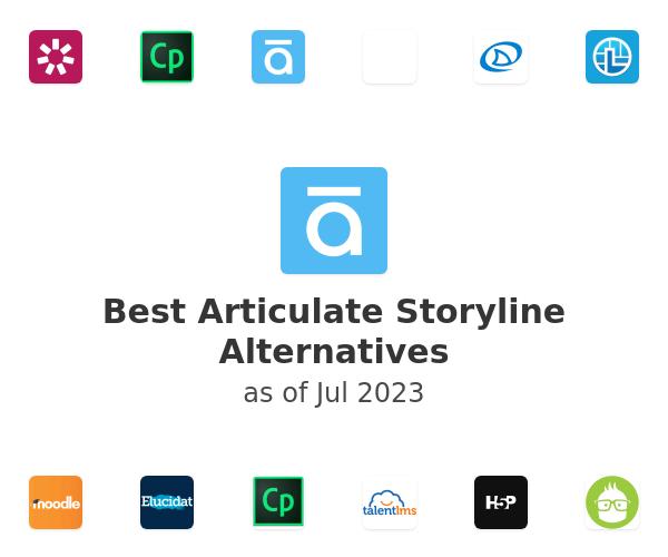 Best Articulate Storyline Alternatives