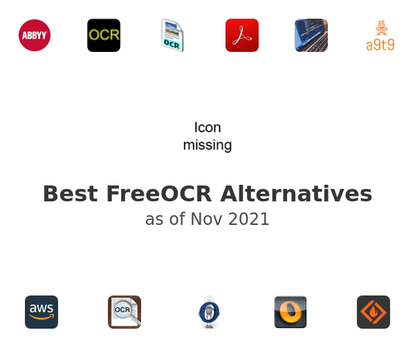 Best FreeOCR Alternatives